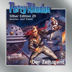 Perry Rhodan Silber Edition (MP3-CDs) 29: Der Zeitagent von Darlton,  Clark, Ewers,  H.G., Mahr,  Kurt, Scheer,  K. H., Tratnik,  Josef, Voltz,  William