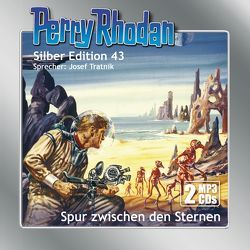 Perry Rhodan Silber Edition (MP3-CDs) 43: Spur zwischen den Sternen von Darlton,  Clark, Kneifel,  Hans, Tratnik,  Josef, Voltz,  William