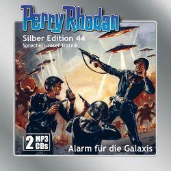 Perry Rhodan Silber Edition (MP3-CDs) 44: Alarm für die Galaxis von Darlton,  Clark, Kneifel,  Hans, Tratnik,  Josef, Voltz,  William