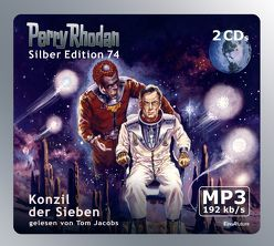 Perry Rhodan Silber Edition (MP3-CDs) 74 – Konzil der Sieben von Jacobs,  Tom, Vlcek,  Ernst, Voltz,  William
