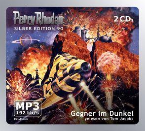 Perry Rhodan Silber Edition (MP3-CDs) 90 – Gegner im Dunkel von Ewers,  H.G., Francis,  H G, Jacobs,  Tom, Kneifel,  Hans