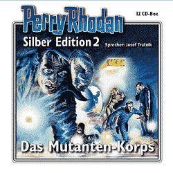 Perry Rhodan Silber Edition Nr. 2 – Das Mutanten-Korps von Darlton,  Clark, Greis,  Hans, Mahr,  Kurt, Scheer,  K. H., Schnurrer,  Achim, Shols,  Werner A, Tratnik,  Josef, Voltz,  William