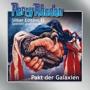Perry Rhodan Silber Edition Nr. 31 – Pakt der Galaxien von Darlton,  Clark, Ewers,  H.G., Scheer,  K. H., Tratnik,  Josef, Voltz,  William