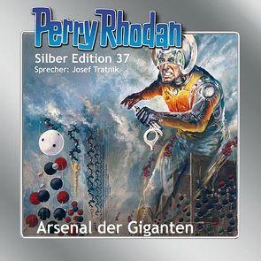 Perry Rhodan Silber Edition Nr. 37 – Arsenal der Giganten von Ewers,  H.G., Mahr,  Kurt, Tratnik,  Josef, Voltz,  William