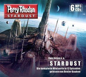 Perry Rhodan Stardust – Die komplette Miniserie (6 MP3-CDs) von Anton,  Uwe, Corvus,  Robert, Mathiak,  Dennis, Schleifer,  Roman