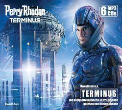 Perry Rhodan Terminus – Die komplette Miniserie (6 MP3-CDs) von Anton,  Uwe, Baaken,  Renier, Mathiak,  Dennis, Montillon,  Christian, Schleifer,  Robert