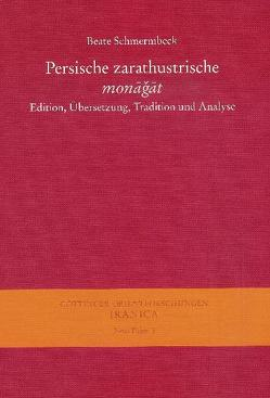 Persische zarathustrische monagat von Schmermbeck,  Beate