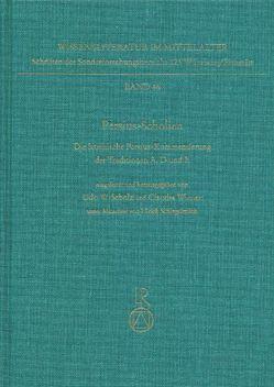 Persius-Scholien von Schlegelmilch,  Ulrich, Scholz,  Udo W., Wiener,  Claudia