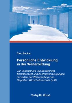 Persönliche Entwicklung in der Weiterbildung von Becker,  Cleo