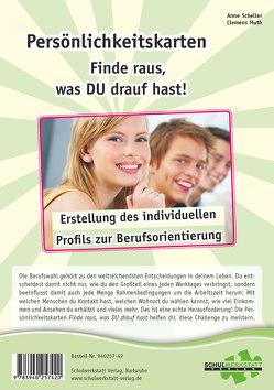 """Persönlichkeitskarten """"Finde raus, was DU drauf hast!"""" von Muth,  Clemens, Scheller,  Anne"""