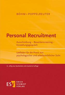 Personal Recruitment von Böhm,  Wolfgang, Poppelreuter,  Stefan