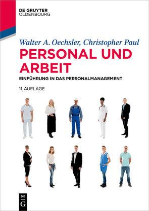 Personal und Arbeit von Oechsler,  Walter A., Paul,  Christopher