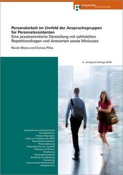Personalarbeit im Umfeld der Anspruchsgruppen für Personalassistenten von Messi,  Nicole, Pifko,  Clarisse