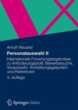 Personalauswahl I von Weuster,  Arnulf