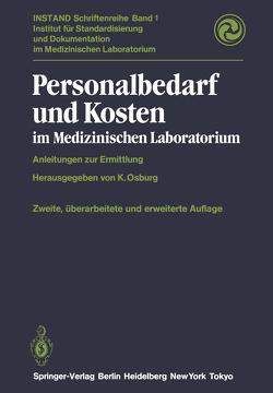 Personalbedarf und Kosten im Medizinischen Laboratorium von Osburg,  K.