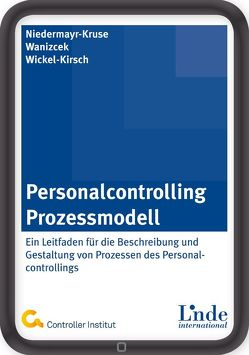 Personalcontrolling-Prozessmodell von Niedermayr-Kruse,  Rita, Waniczek,  Mirko, Wickel-Kirsch,  Silke