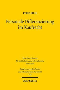 Personale Differenzierung im Kaufrecht von Beil,  Lydia