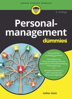 Personalmanagement für Dummies von Stein,  Volker