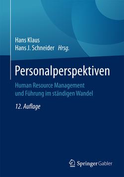 Personalperspektiven von Klaus,  Hans, Schneider,  Hans J.