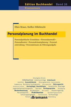 Personalplanung im Buchhandel von Braun,  Ellen, Hillebrecht,  Steffen
