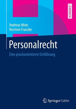 Personalrecht von Franzke,  Normen, Wien,  Andreas