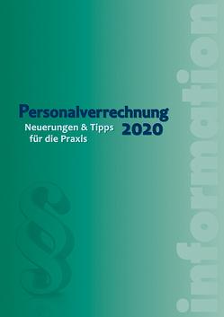 Personalverrechnung 2020 von Luxbacher,  Bernd, Schrenk ,  Friedrich