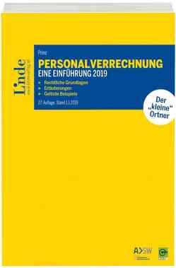 Personalverrechnung: eine Einführung 2019 von Prinz,  Irina