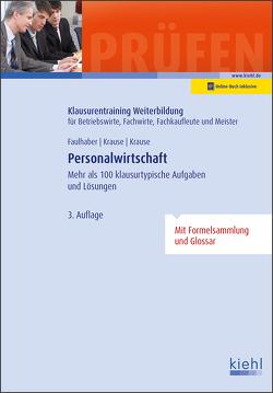 Personalwirtschaft von Faulhaber,  Marcus, Krause,  Bärbel, Krause,  Günter