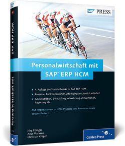 Personalwirtschaft mit SAP ERP HCM von Edinger,  Jörg, Krüger,  Christian, Marxsen,  Anja