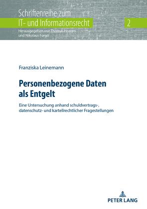 Personenbezogene Daten als Entgelt von Leinemann,  Franziska