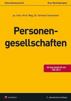 Personengesellschaften von Schummer,  Gerhard