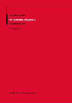 Personenstandsgesetz von Bornhofen,  Heinrich, Gaaz,  Berthold