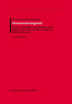 Personenstandsgesetz von Bockstette,  Rainer, Bornhofen,  Heinrich, Schmitz,  Heribert
