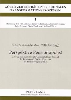 Perspektive Pensionopolis! von Steinert,  Erika, Zillich,  Norbert