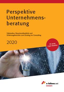 Perspektive Unternehmensberatung 2020 von Fritz,  Thomas, Hies,  Michael, Kriegbaum,  Sarah