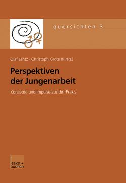 Perspektiven der Jungenarbeit von Grote,  Christpoh, Jantz,  Olaf