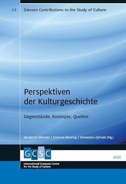Perspektiven der Kulturgeschichte von Brendel,  Benjamin, Geering,  Corinne, Zylinski,  Sebastian