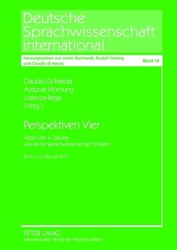 Perspektiven Vier von Di Meola,  Claudio, Hornung,  Antonie, Rega,  Lorenza
