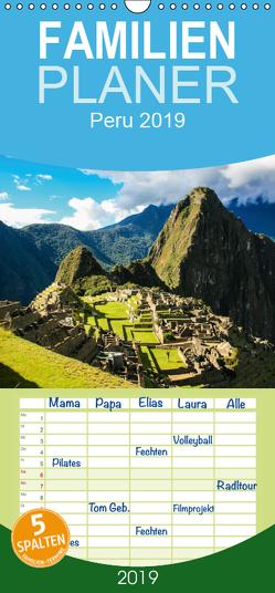 Peru 2019 – Familienplaner hoch (Wandkalender 2019 , 21 cm x 45 cm, hoch) von Grieshober,  Andy