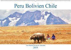 Peru Bolivien Chile (Wandkalender 2019 DIN A2 quer) von Werner,  Reinhard