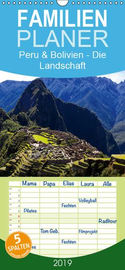 Peru & Bolivien – Die Landschaft – Familienplaner hoch (Wandkalender 2019 , 21 cm x 45 cm, hoch) von Bruhn,  Olaf
