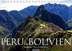 Peru & Bolivien – Die Landschaft (Tischkalender 2019 DIN A5 quer) von Bruhn,  Olaf