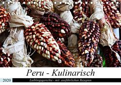 PERU – Kulinarisch (Tischkalender 2020 DIN A5 quer) von Schade,  Heidi