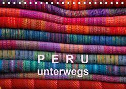 Peru – unterwegs (Tischkalender 2019 DIN A5 quer) von Gorke,  Volkmar
