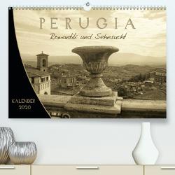 Perugia. Romantik und Sehnsucht. (Premium, hochwertiger DIN A2 Wandkalender 2020, Kunstdruck in Hochglanz) von Yerokhina,  Kateryna