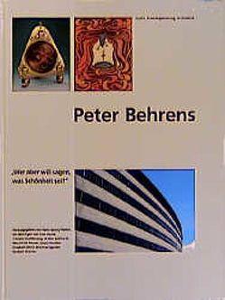 Peter Behrens von Asche,  Kurt, Buddensieg,  Tillmann, Gebhardt,  Walter, Heuser,  Mechthild, Moeller,  Gisela, Motz,  Elisabeth, Pfeifer,  Hans G, Speidel,  Manfred, Werner,  Norbert