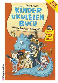 Peter Bursch's Kinder-Ukulelenbuch von Bursch,  Peter, Evers,  Anke, Strohm,  Michael