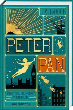 Peter Pan von Barrie,  James M., MinaLima Design, Wilms,  Bernd