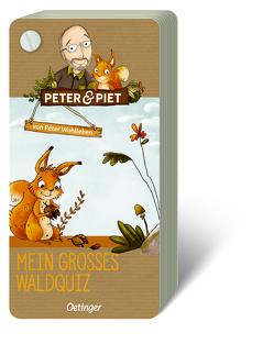 Peter & Piet. Mein großes Wald-Quiz von Reich,  Stefanie, Wohlleben,  Peter