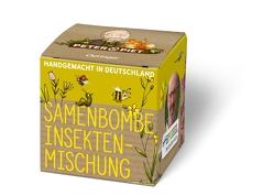 Peter & Piet Samenbombe Insektenmischung von Reich,  Stefanie, Wohlleben,  Peter